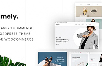 Amely V2.6.4 - Premium Wordpress Theme For Woocommerce - Fashion Shop