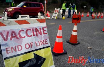 Anti-vaccine protesters temporarily Closed down COVID-19 vaccine Website