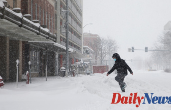 Winter weather Warms across the United States with multiple storms bringing Rain, Snow and blizzard conditions