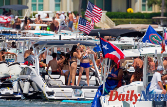 Florida Yearly boat party Contributes to a dozen drunken arrests
