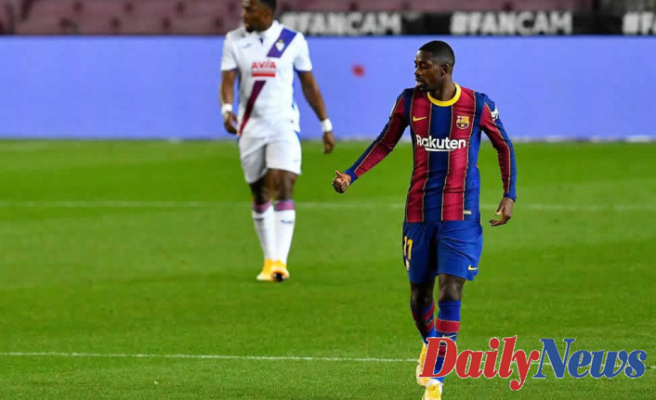 Barcelona dropped 2 points at home against Eibar