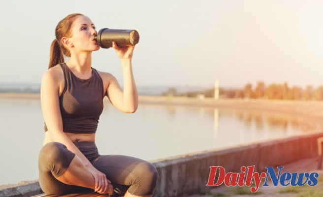Homemade and absolutely natural protein supplement for the gym!