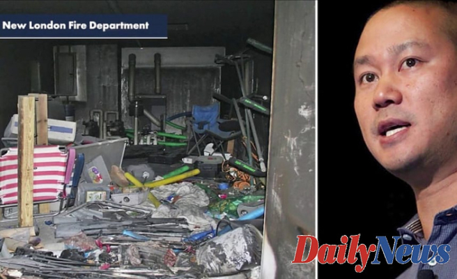 Officials Launch 911 calls Associated with fire Which killed Tony Hsieh