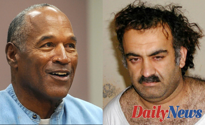 OJ Simpson gets vaccinated Before you -- and 9/11 mastermind KSM Might Also: Tales