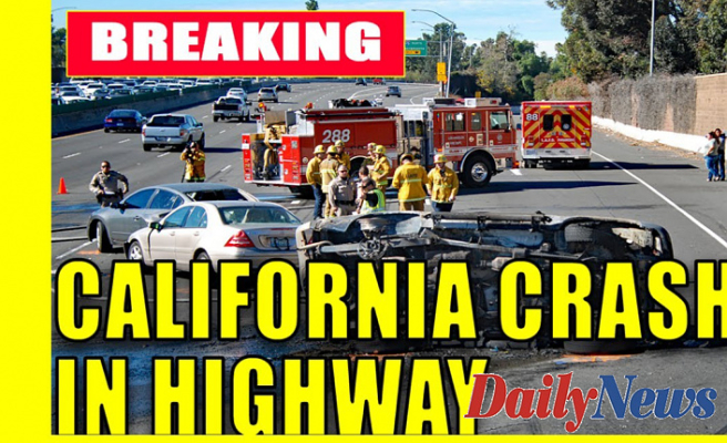 California crash leaves highway officer, tow truck driver injured; DUI suspect arrested: reports