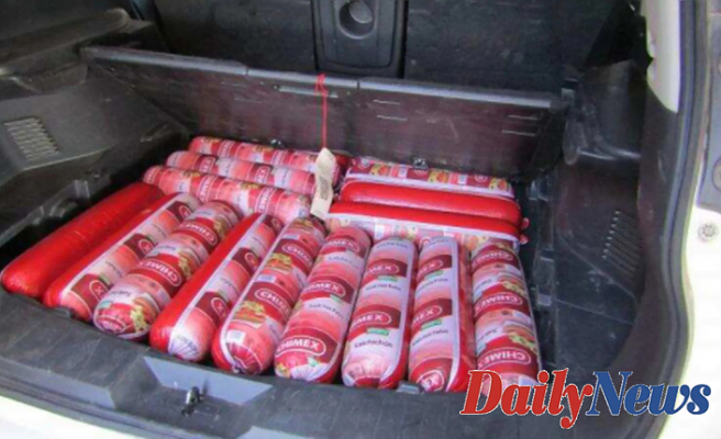 CBP confiscates Almost 200 Pounds of bologna Located in car at New Mexico Boundary