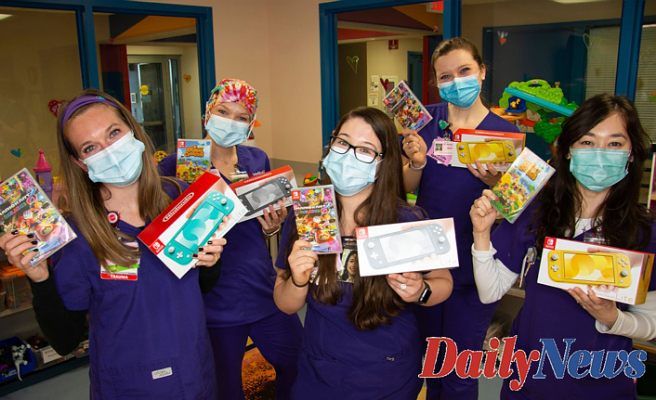 Each pediatric unit managed to Receive its hands on its device and match