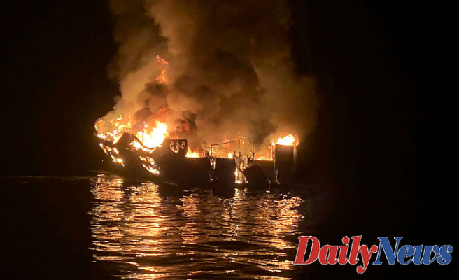 Fire Sept. 2, 2019, directed to one of the deadliest maritime disasters recently U.S. background