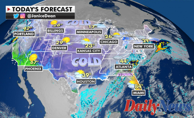 Important winter storm is crawling Throughout Eastern US