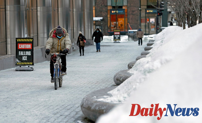 Some regions with high-temperature  and mild end may feel as low as -50 degrees