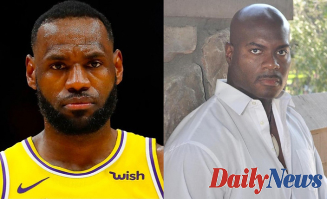 Los Angeles police officer Pencils letter to LeBron James Asking sitdown to talk about policing