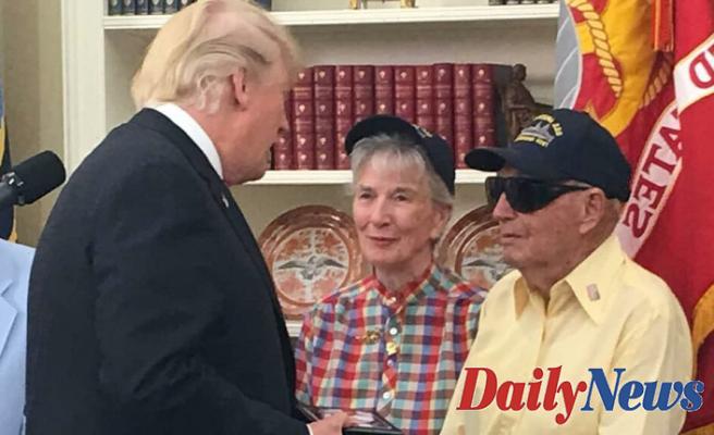 USS Arizona survivor, Navy veteran celebrates 100th birthday, receives personal message from Secret Service