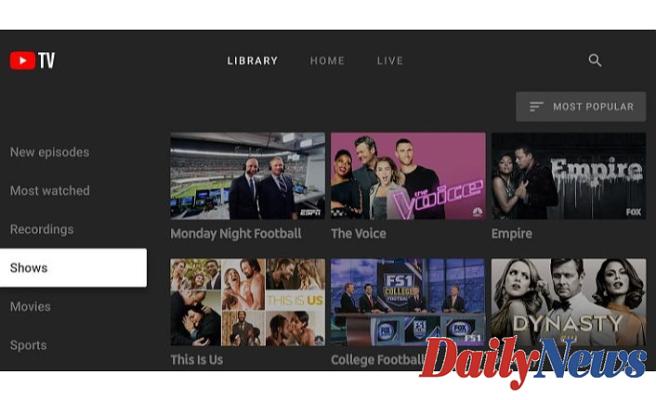 Activate YouTube TV on Chromecast, Roku, Apple TV, Smart TV