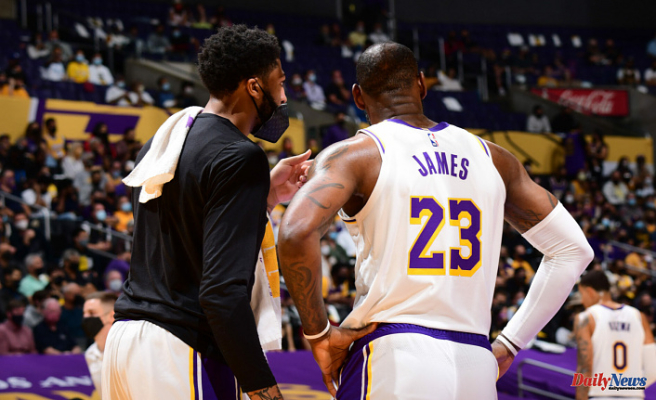 Anthony Davis injury Affects complexion of Suns-Lakers Show