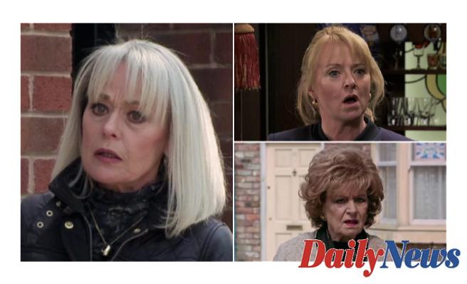 Coronation Street spoilers: Jenny Connor and Rita Tanner discover Sharon's evil plot