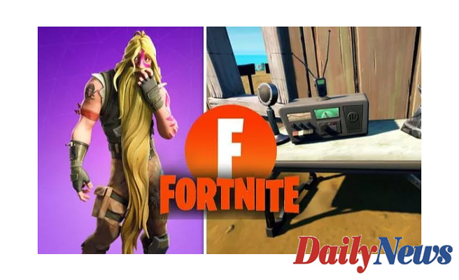 Fortnite Utilize CB Radio Foreshadowing Barrier map Places Shown