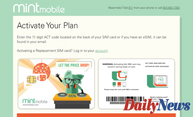 How To Activate Mint Mobile Account At Mintmobile.com/activate