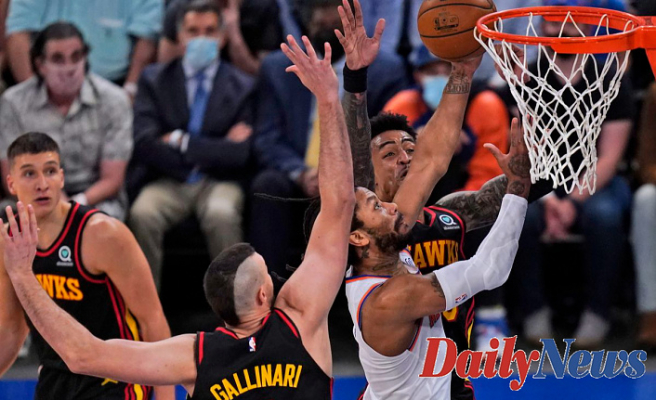 Knicks vs. Hawks score: Trae Young, Atlanta dominate New York in Game 4 victory to take 3-1 series lead