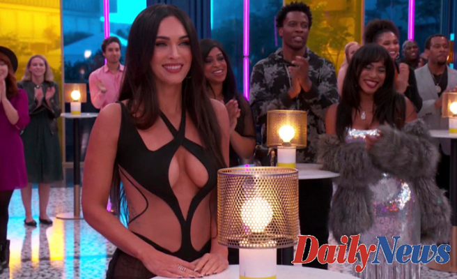 Megan Fox's Sexy half-naked look is barely there -- but everywhere