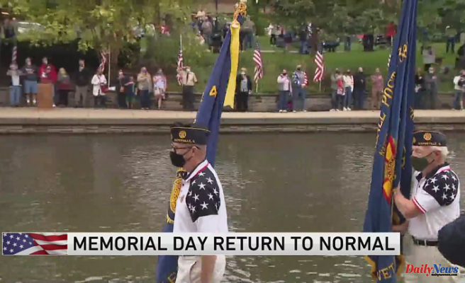 Naperville Memorial Day parade Contributes to scaled-back Style