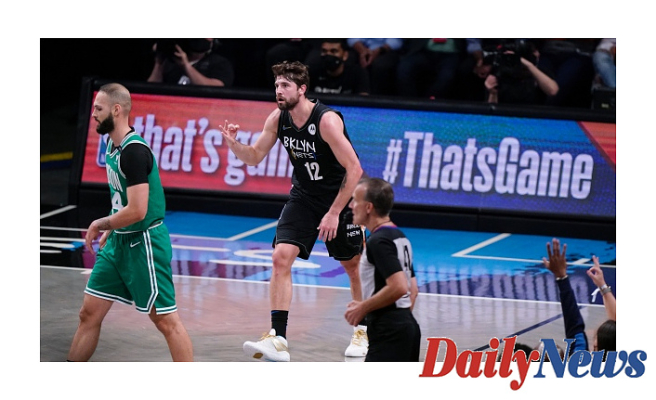 Nets roll past Celtics Supporting Harrisup 2-0