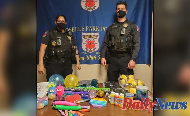 NJ police department's Disabilities awareness project equips officers Using sensory Instrument kits
