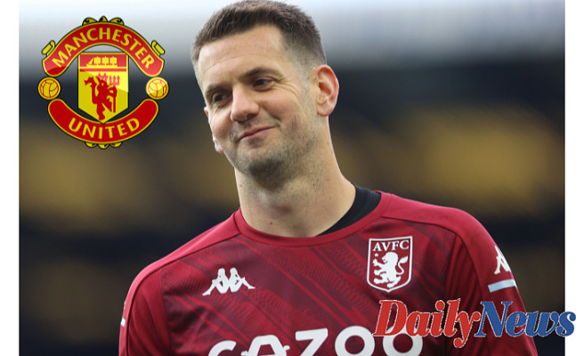 RED HEAT Tom Heaton Considers two-year Man Utd deal on free transfer Following Aston Villa Launch and Place to sign contract Following month