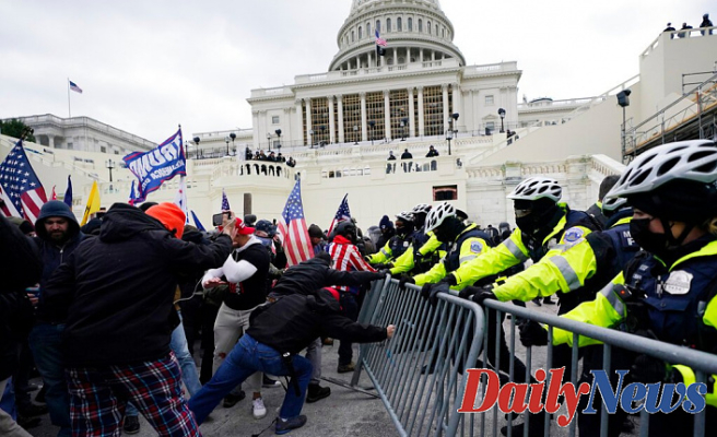 Senate Republicans Block A Strategy For A Independent Commission On Jan. 6 Capitol Riot