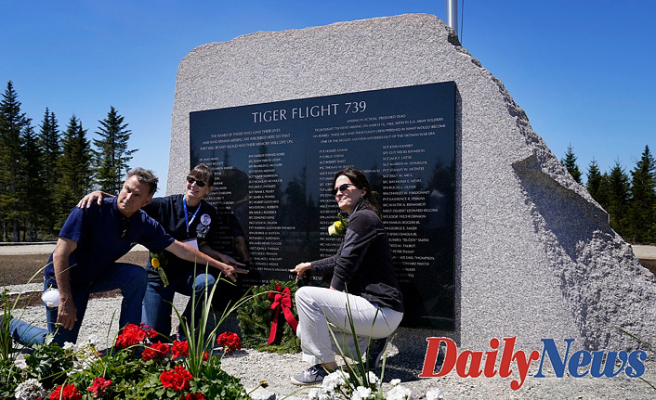 Vietnam vets killed during secret Pacific mission get Maine memorial Almost 60 years later