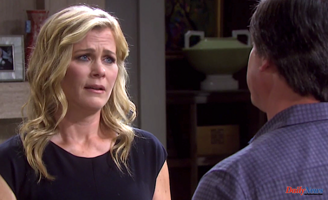 A Shocked Sami Opens the Door to EJ After Lucas Pours His Heart Out -- Plus, Nicole Types That a Tearful Confession to Eric