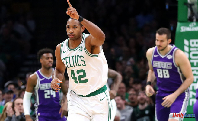 """Al Horford, Celtics' coach, said that it's """"surreal"""" to be back. He added: """"Really appreciate how special of an area Boston is."""""""