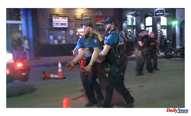 Austin Police Look For A Suspect At A Downtown Shooting That Wounded 13 Individuals