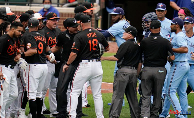Benches Apparent in Orioles-Blue Jays Match Following Alek Manoah plunks Maikel Franco following back-to-back homers