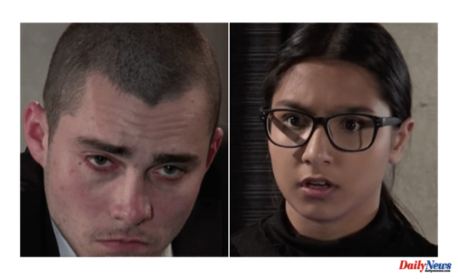 Coronation Street spoilers: Killer Corey Brent catches Asha Alahan trying to expose him in dark scenes