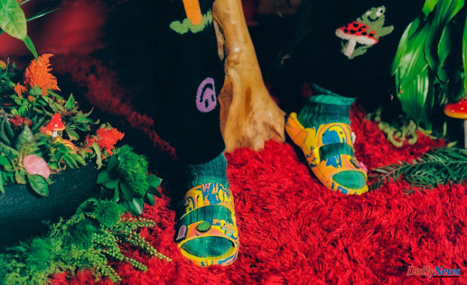 Diplo Teams Up With Crocs to Get a Psychedelic New Collaboration