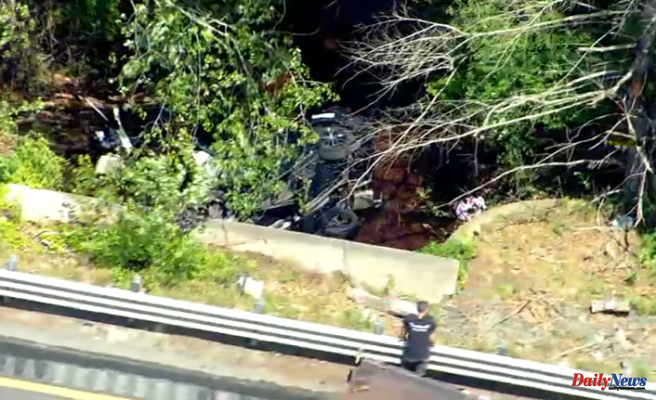 Driver Killed When Vehicle Drives Into Eel River at Plymouth