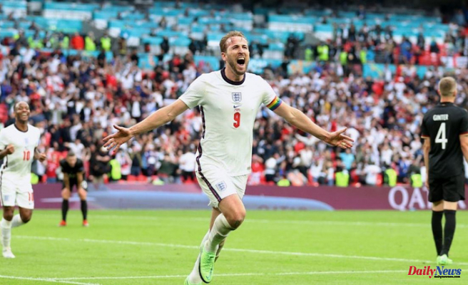 England vs. Germany: Raheem sterling and Harry Kane score late goals to lead the Three Lions into the quarterfinals