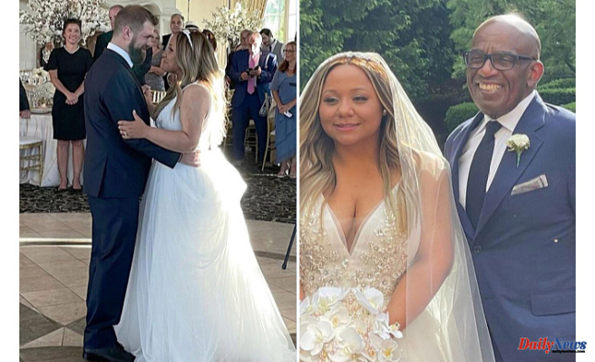 'FILLED WITH JOY' Al Roker's daughter Courtney marries Wesley Laga Following a Nighttime'beyond anything That She could imagine'