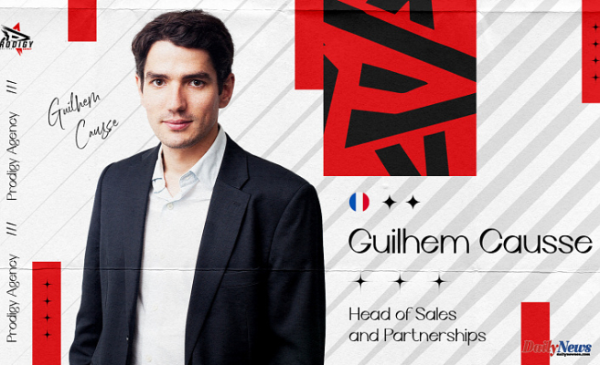 Guilhem Causse joins Prodigy Agency as Head of Sales and Partnerships