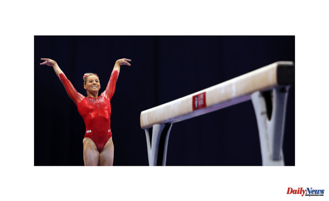 Gymnast MyKayla Skinner was admitted to the hospital with COVID-19. She's now heading to Tokyo