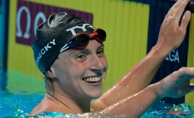 Katie Ledecky shows dominance, poise in U.S. Olympics swim trials