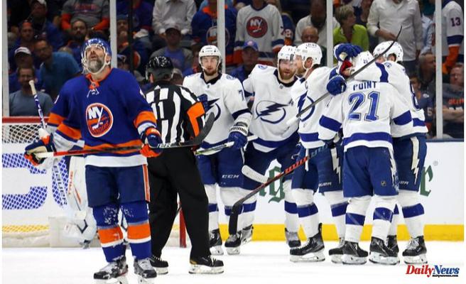 Lightning top Islanders to Get 2-1 series lead in Stanley Cup semifinals