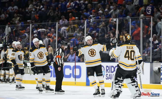 Marchand's Overtime Goal Gives Bruins Series Lead