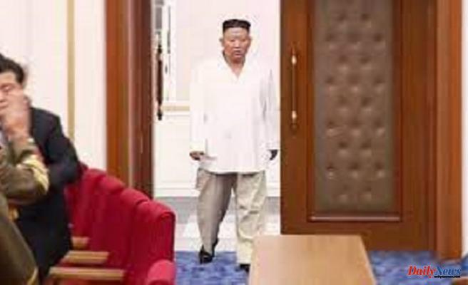 "North Korean State Media Talks Kim Jong Un's ""Emaciated Looks"""