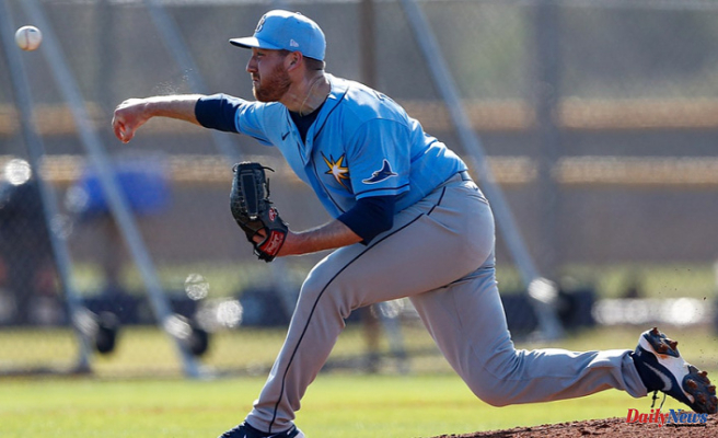 Rays prospect pitcher pitcher Tyler Zombro hit in head by line drive, Stays in hospital