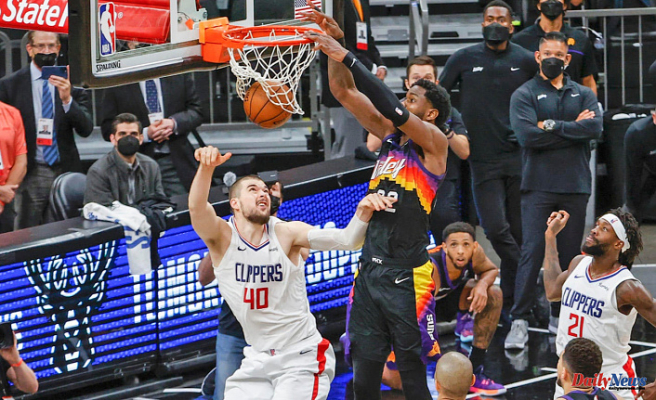 Score, takeaways from Suns vs. Clippers: Phoenix is saved by Deandre Ayton in Game 2, with a last-second dunk