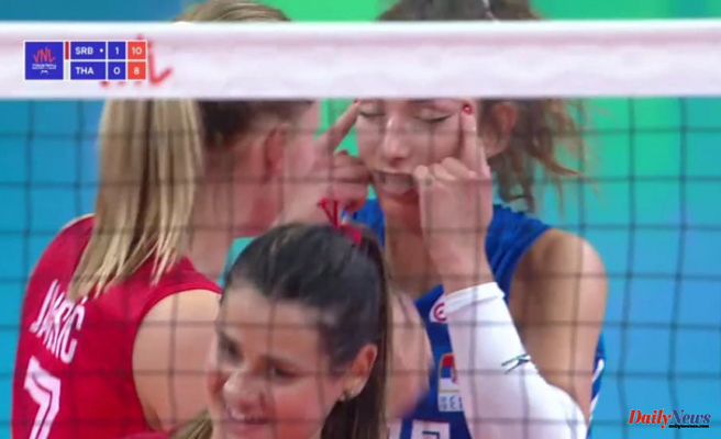 Serbian volleyball player apologizes after Creating racist gesture Throughout Game