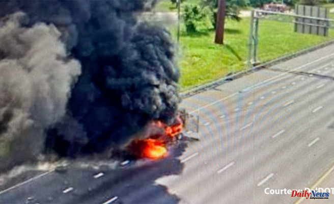 Shelter-in-place ordered as crews Burned hazardous Substances from I-95 after Wreck in Delaware