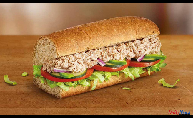 Subway's tuna sandwiches contain 'no amplifiable tunaDNA,' according to NYT tests