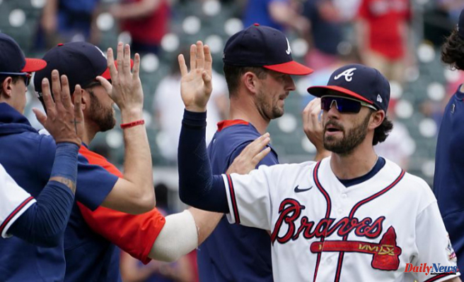 Swanson Remains hot with 2-run HR as Braves top Nationals 5-1